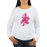Pink Poodle Women's Long Sleeve T-Shirt