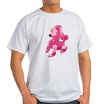 Pink Poodle Light T-Shirt