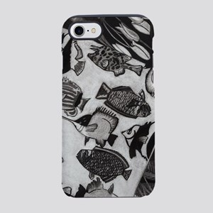 Charcoal Chaos iPhone 8/7 Tough Case
