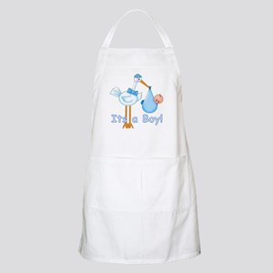 It's a Boy! Stork BBQ Apron