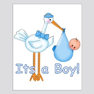 It's a Boy! Stork Small Poster