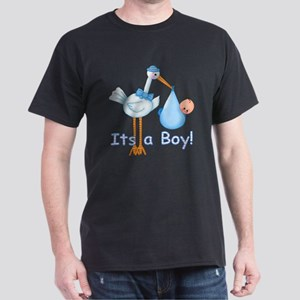 It's a Boy! Stork Dark T-Shirt