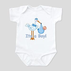 It's a Boy! Stork Infant Bodysuit