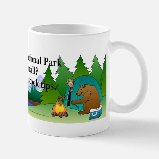 Camping Bears Mug