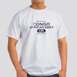 Property of Congo African Grey Light T-Shirt