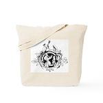 Devil Illustration Tote Bag