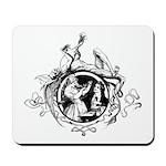 Devil Illustration Mousepad