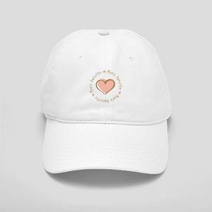 Mom's Favorite Girl Heart Cap