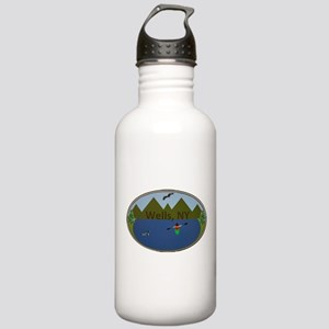 Wells, NY Stainless Water Bottle 1.0L
