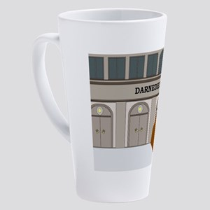 I am late again... 17 oz Latte Mug