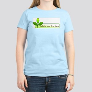 Labels are for Jars - Women's Light T-Shirt