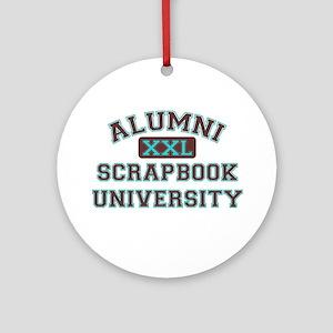 Alumni Ornament (Round)