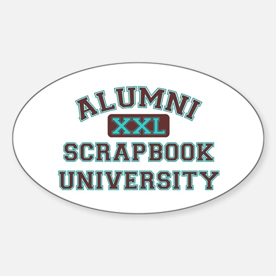 Alumni Oval Decal