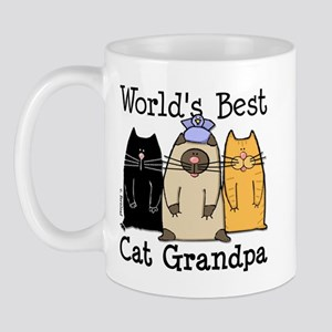World's Best Cat Grandpa Mug