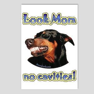 Doberman Humor II Postcards (Package of 8)