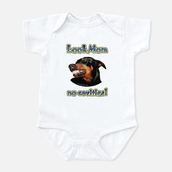 Doberman Humor II Infant Bodysuit