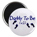 Daddy To Be (x2) Magnet
