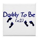 Daddy To Be (x2) Tile Coaster