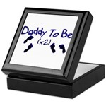 Daddy To Be (x2) Keepsake Box