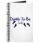 Daddy To Be (x2) Journal