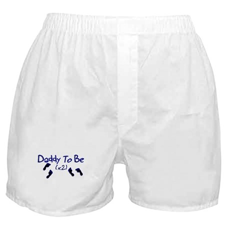 Daddy To Be (x2) Boxer Shorts
