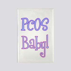 PCOS Baby! Rectangle Magnet