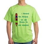 I scream, Ice Cream Green T-Shirt