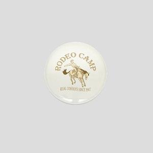 Rodeo Camp Mini Button
