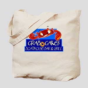 Crab Cakes Boathouse Tote Bag