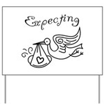 Expecting Yard Sign