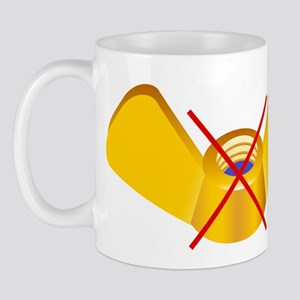No Sup wing nuts Mug