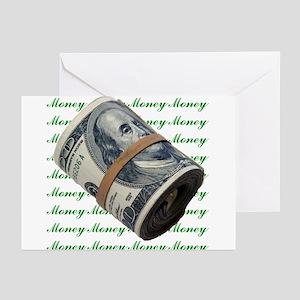 MONEY MONEY MONEY Greeting Cards