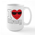 I Love California Mugs