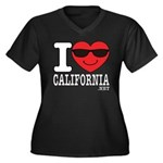I Love California Plus Size T-Shirt
