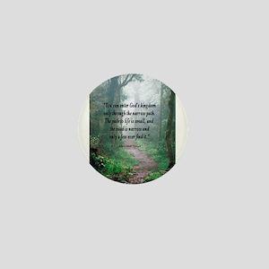 The Narrow Path Mini Button