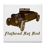 Tile Coaster-FLATHEAD RAT ROD