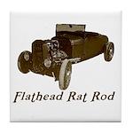 Tile Coaster-FLATHEAD RAT ROD