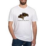 Fitted T-Shirt-FLATHEAD RAT ROD