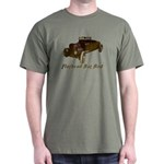 Dark T-Shirt-FLATHEAD RAT ROD