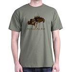 Dark T-Shirt-FLATHEAD RAT ROD