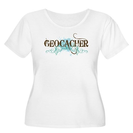 Geocacher Women's Plus Size Scoop Neck T-Shirt