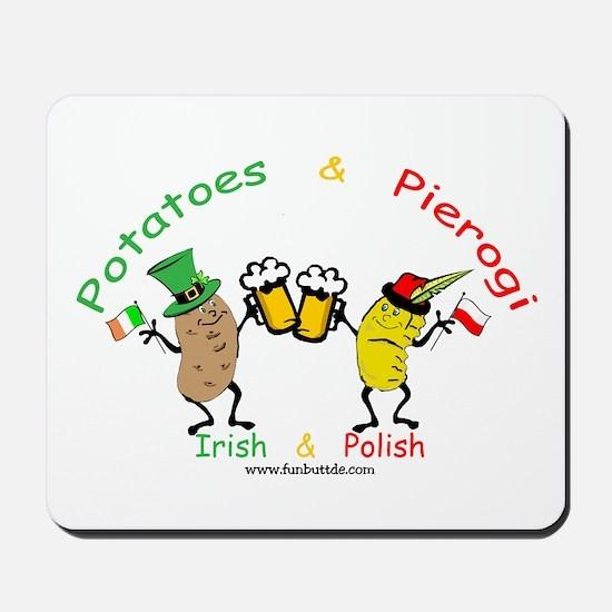 Irish & Polish Mousepad
