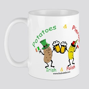 Irish & Polish Mug