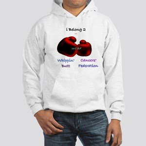 Knock Out Cancer Now Hooded Sweatshirt