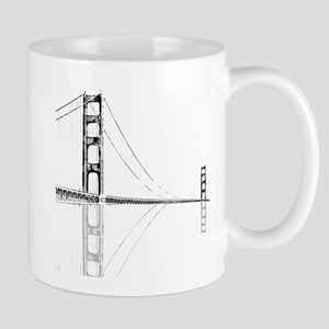 Golden Gate Faded Mug