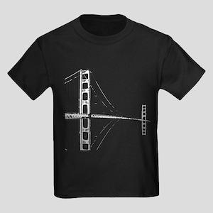 Golden Gate Faded Kids Dark T-Shirt