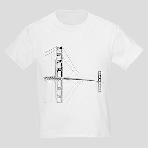 Golden Gate Faded Kids Light T-Shirt