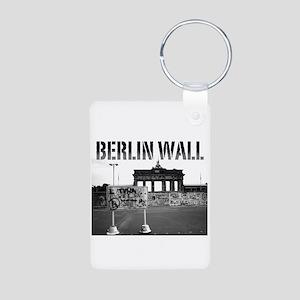 Berlin Wall Germany 1989 Pro Photo Keychains