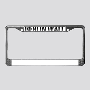 Berlin Wall Germany 1989 Pro P License Plate Frame