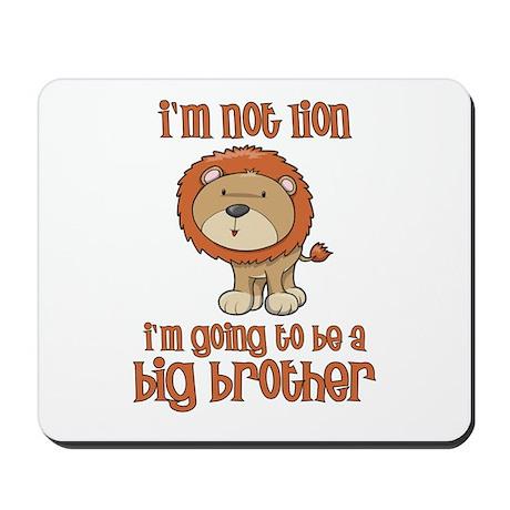 big brother t-shirts lion Mousepad